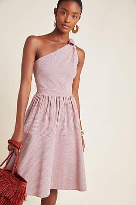 Gal Meets Glam Martha One-Shoulder Mini Dress