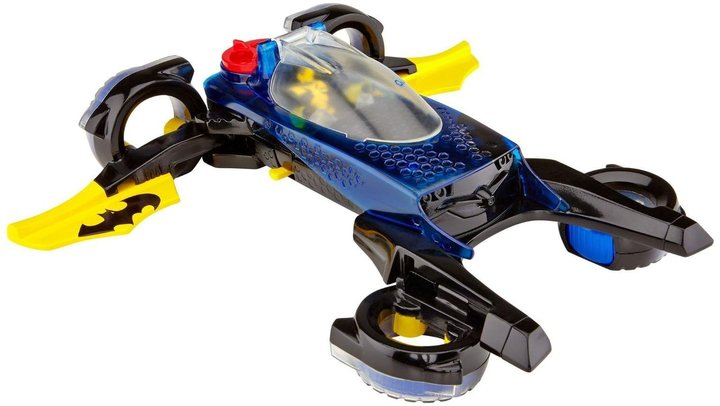 Fisher Price Imaginext DC Super Friends Transforming Batmobile