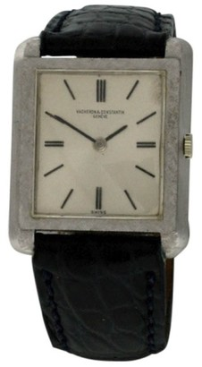 Vintage Vacheron Constantin Classique 18K White Gold Manual Wind 25mm Womens Watch $4,275 thestylecure.com