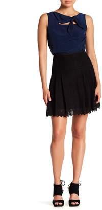 Nanette Lepore Suzie Q Lace Skater Skirt