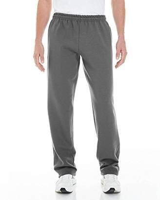 Gildan Men's Fleece Open Bottom Pocketed Pant