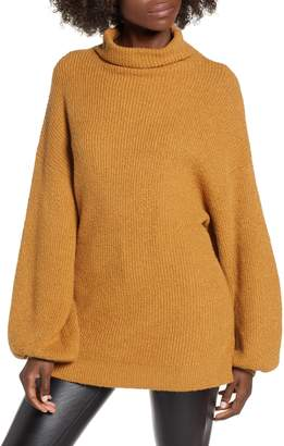 BP Knit Funnel Neck Tunic