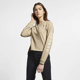 Nike Women's Long-Sleeve Top Hurley Cryptik