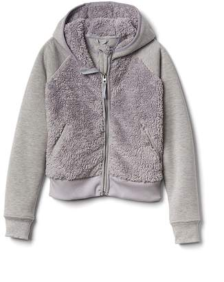 Athleta Girl Sherpa Full Zip Jacket
