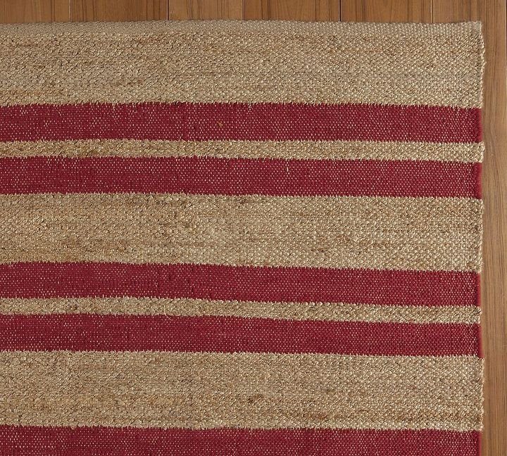 Chindi Striped Jute Rug