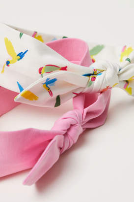 H&M 2-pack Hairbands with Bow - White