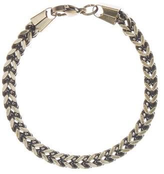 März 6mm Vintage Stainless Steel Box Chain Bracelet
