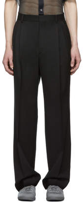 Cmmn Swdn Black Wool Jay Trousers