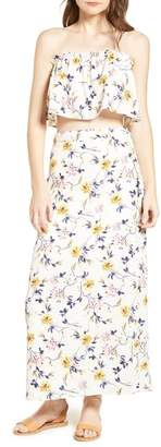 Ten Sixty Sherman Floral Print Wrap Skirt