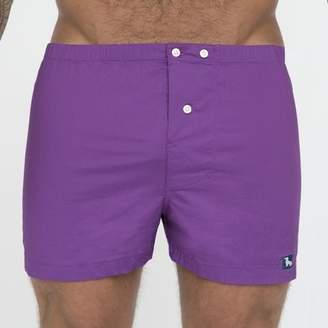 Blade + Blue Solid Purple Boxer Short - Darin
