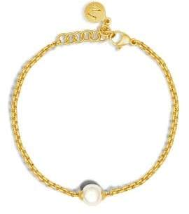Majorica 8MM Organic Pearl Chain Bracelet