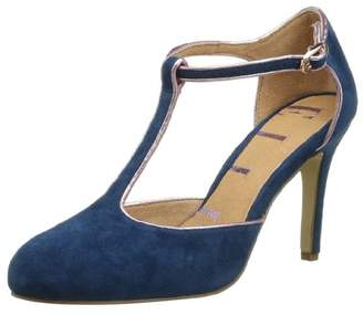 Elle Women's Mirabeau Court Shoes Blue 4