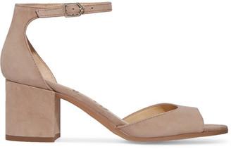 Sam Edelman - Susie Suede Sandals - Beige $120 thestylecure.com