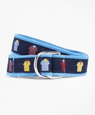 Brooks Brothers Polo Ribbon Belt
