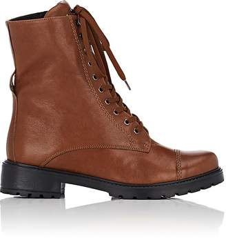 FiveSeventyFive Women's Leather Combat Boots