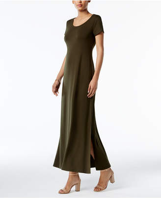 Style&Co. Style & Co Petite Scoop-Neck Maxi Dress, Created for Macy's