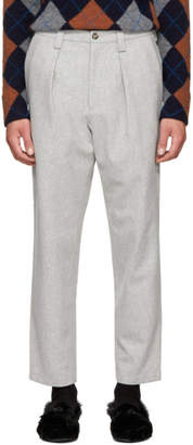 Acne Studios Grey Alfie Trousers