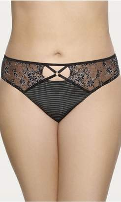 City Chic Citychic Ashley Graham Essential Thong