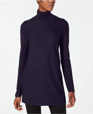 Eileen Fisher Tencel Long-Sleeve Turtleneck Tunic