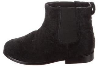 Little Marc Jacobs Girls' Pony Hair Boots