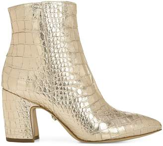 Sam Edelman Hilty 2 Patent Leather Ankle Boots