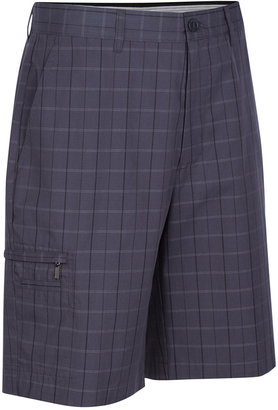 Greg Norman For Tasso Elba Men's 5 Iron Plaid Shorts, Only at Macy's $29.98 thestylecure.com