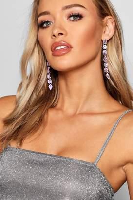 boohoo Gem Drop Earrings