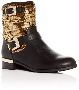 Vince Camuto Girls' Winika Sequin Low-Heel Boots - Toddler, Little Kid, Big Kid