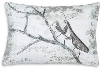 "Michael Aram Praying Mantis-Branch Decorative Pillow, 8"" x 12"""