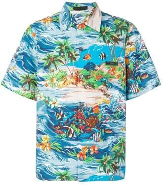 Prada Paradise print shirt