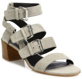 Rebecca Minkoff Ilana Kid Leather Strappy Sandals $150 thestylecure.com