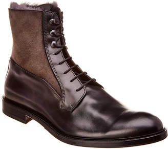 Antonio Maurizi Leather & Suede Boot