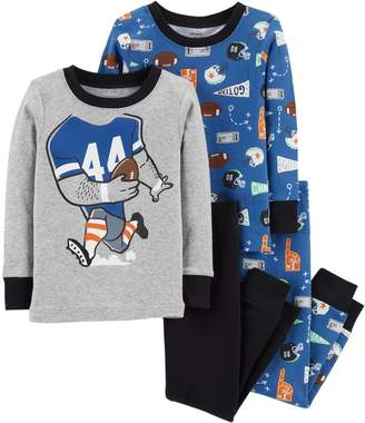 Carter's Baby Boy Football Tops & Bottoms Pajama Set