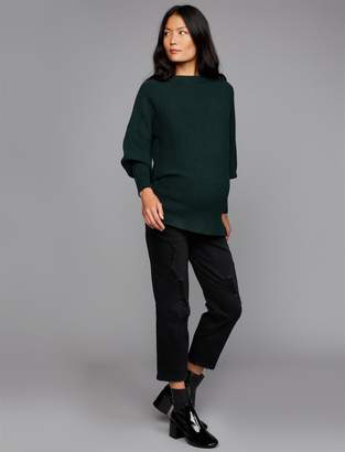 A Pea in the Pod Luxe Essentials Denim Secret Fit Belly McKenzie Straight Crop Maternity Jeans