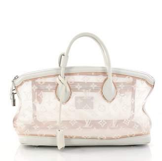Louis Vuitton White Leather Handbag
