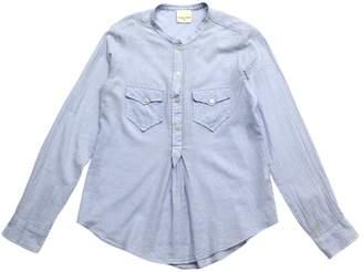 Laurence Dolige Blue Cotton Tops