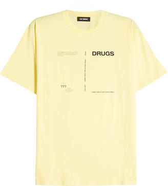 Raf Simons Drugs Screenplay Cotton T-Shirt