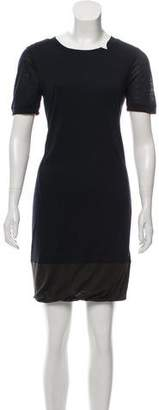 A.L.C. Wool-Blend Mini Dress
