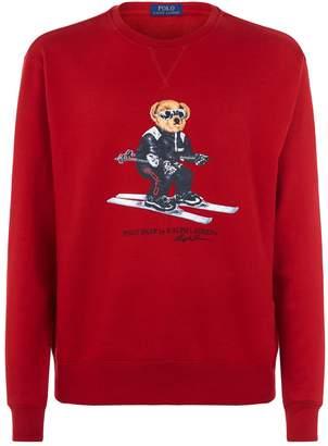 Polo Ralph Lauren Skiing Polo Bear Printed Sweatshirt