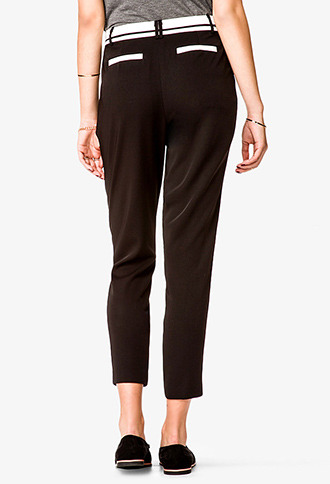 Forever 21 Tapered Dress Trousers