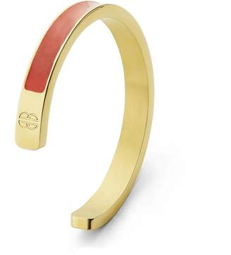 Florence London - Coral & Gold Chunky Cuff