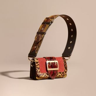 Burberry The Patchwork in Textured Suede and Snakeskin $2,495 thestylecure.com