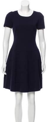 Mantu Short Sleeve Mini Dress