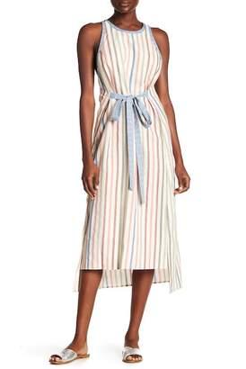 BCBGMAXAZRIA Multicolor Stripe Dress