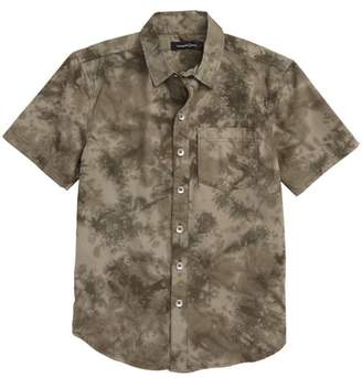 Treasure & Bond Tie Dye Poplin Shirt (Big Boys)