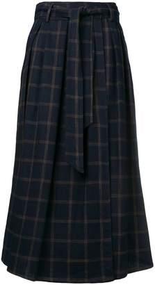 Dusan pleated skirt