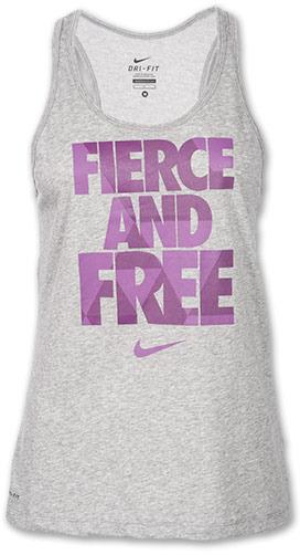 Nike Women's Fierce and Free Running Tank