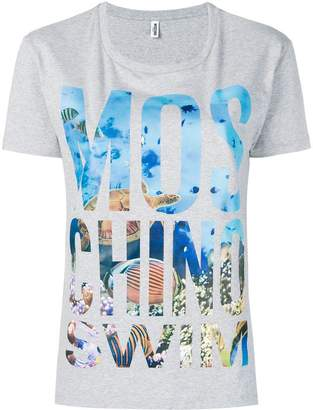 Moschino logo graphic print T-shirt