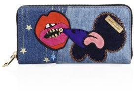 Marc JacobsMarc Jacobs Standard Continental Denim Wallet