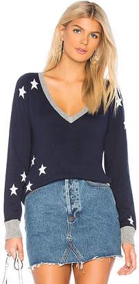 Chaser Star V Neck Sweater